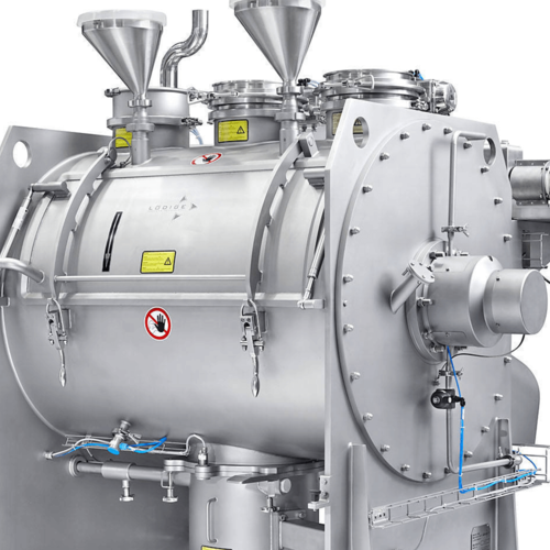 Ploughshare® mixers for batch operation